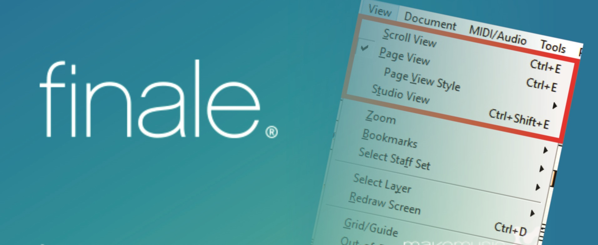 Finale Tutorial: Scroll View, Page View e Studio View